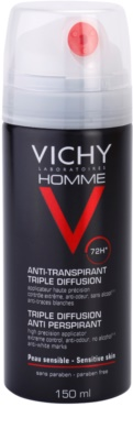 Vichy Homme Déodorant spray anti-perspirant 72 ore