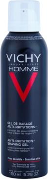 Vichy Homme Anti-Irritation gel za britje za občutljivo in razdraženo kožo