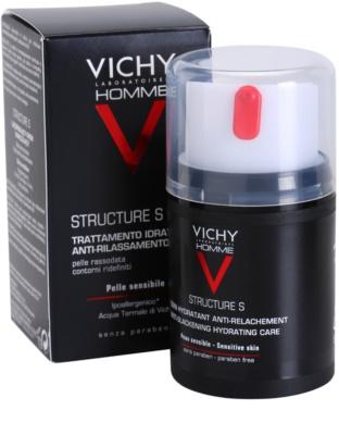 Vichy Homme Structure S crema hidratante para piel flácida 1