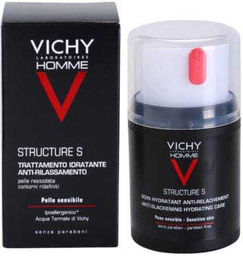 Vichy Homme Structure S crema hidratante para piel flácida 2