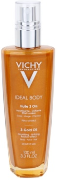 Vichy Ideal Body Oil with Glitter On Face, Body And Hair