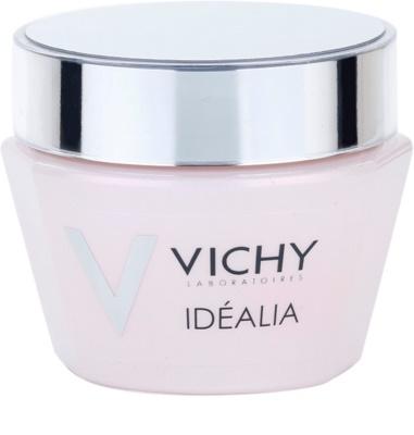 Vichy Idéalia crema suavizante iluminadora para pieles secas