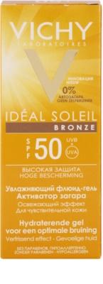 Vichy Idéal Soleil Bronze Gel - fluid hidratant pentru bronzarea optima a fetei SPF 50 3