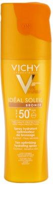 Vichy Idéal Soleil Bronze spray hidratante estimulador de bronzear SPF 50