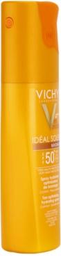 Vichy Idéal Soleil Bronze spray hidratante para potenciar el bronceado SPF 50 1