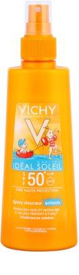 Vichy Idéal Soleil Capital jemný ochranný sprej pro děti SPF 50+