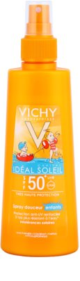 Vichy Idéal Soleil Capital něžno zaščitno pršilo za otroke SPF 50+