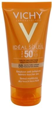 Vichy Idéal Soleil Capital матиращ ВВ крем SPF 50
