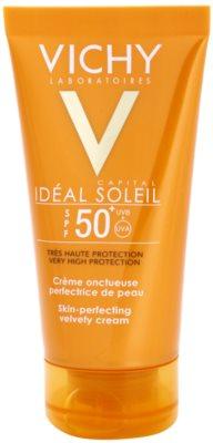 Vichy Idéal Soleil Capital zaščitna krema za žametno kožo SPF 50+