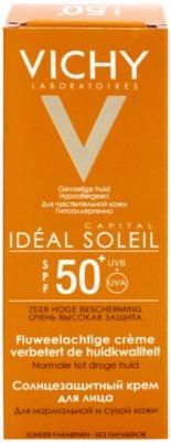 Vichy Idéal Soleil Capital védő krém a bársonyos bőrért SPF 50+ 2