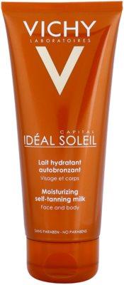 Vichy Idéal Soleil Capital leche hidratante autobronceadora  para rostro y cuerpo