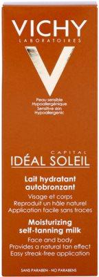 Vichy Idéal Soleil Capital hydratační samoopalovací mléko na obličej a tělo 2