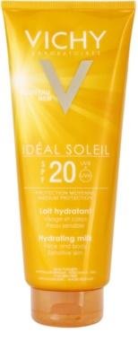Vichy Idéal Soleil feuchtigkeitsspendende schützende Gesichts - und  Körperlotion  SPF 20