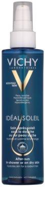 Vichy Idéal Soleil aceite after sun bajo la ducha para la piel seca