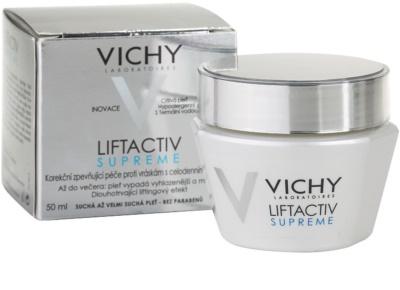Vichy Liftactiv Supreme nappali liftinges kisimító krém száraz és nagyon száraz bőrre 2