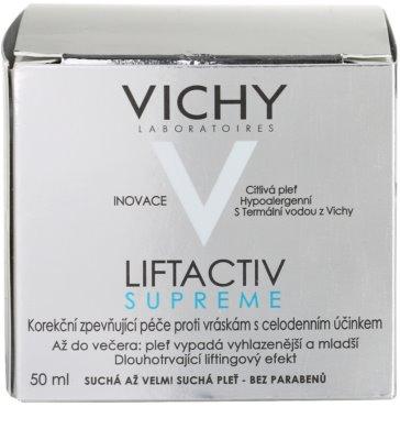 Vichy Liftactiv Supreme creme de dia lifting para pele seca a muito seca 4