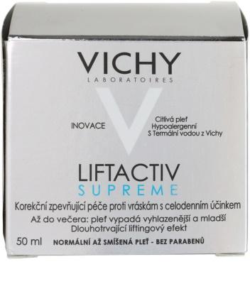Vichy Liftactiv Supreme creme de dia lifting para pele normal a mista 4