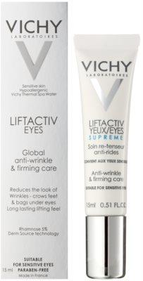 Vichy Liftactiv pielęgnacja pod oczy przeciw zmarszczkom 1