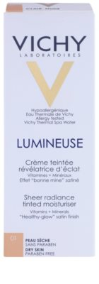 Vichy Lumineuse crema tonica radianta ten uscat 2
