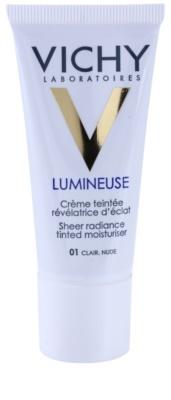 Vichy Lumineuse aufhellende Tönungscreme für normale Haut und Mischhaut