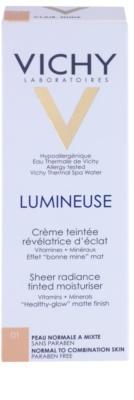 Vichy Lumineuse rozjasňujúci tónovací krém pre normálnu až zmiešanú pleť 2