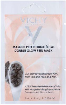 Vichy Mineral Masks posvetlitvena piling maska za obraz