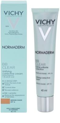 Vichy Normaderm BB Clear krem BB do cery tłustej i problematycznej 1