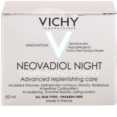 Vichy Neovadiol Compensating Complex crema de noche remodeladora con efecto instanáneo para todo tipo de pieles 3