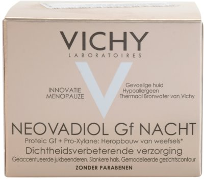 Vichy Neovadiol GF noční revitalizační obnovující krém pro zralou pleť 3