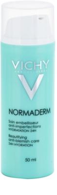 Vichy Normaderm upiększający fluid nawilżający dla dorosłych ze sklonnością do niedoskonałości skóry 24 godz.