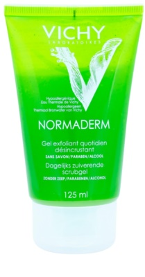 Vichy Normaderm tisztító peeling zsíros és problémás bőrre