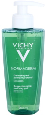 Vichy Normaderm gel limpiador para la piel con signos de envejecimiento e imperfecciones