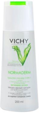 Vichy Normaderm мицеларна почистваща вода за мазна и проблемна кожа 1