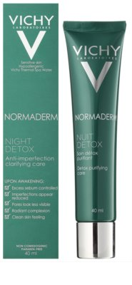 Vichy Normaderm noční detoxikační péče pro pleť s nedokonalostmi 1