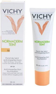 Vichy Normaderm Teint tekoči puder za kožo z nepravilnostmi SPF 20 1