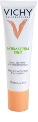 Vichy Normaderm Teint tekoči puder za kožo z nepravilnostmi SPF 20