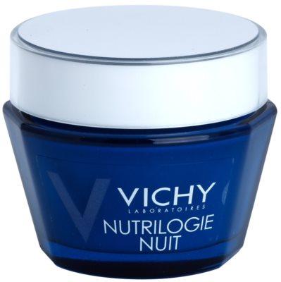 Vichy Nutrilogie crema de noche intensa para pieles secas y muy secas