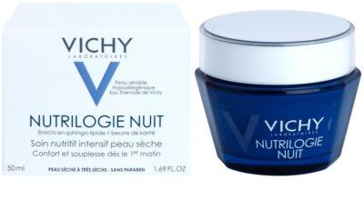Vichy Nutrilogie nočna intenzivna krema za suho do zelo suho kožo 2