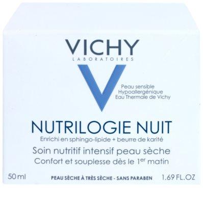 Vichy Nutrilogie crema de noche intensa para pieles secas y muy secas 3