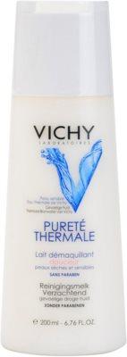 Vichy Pureté Thermale mleczko oczyszczające do cery wrażliwej i suchej