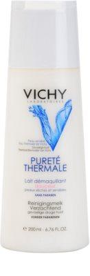 Vichy Pureté Thermale odličovací mléko pro citlivou a suchou pleť