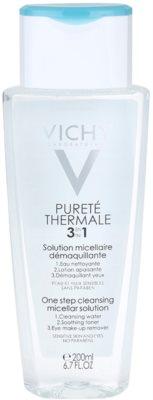 Vichy Pureté Thermale agua micelar limpiadora 3 en 1