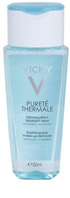 Vichy Pureté Thermale лосион за почистване на фон дьо тен за чувствителни очи