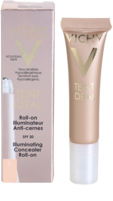 Vichy Teint Idéal roll-on против тъмни кръгове под очите 2