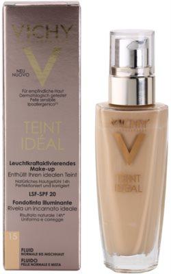 Vichy Teint Idéal rozjasňující fluidní make-up pro ideální odstín pleti 3