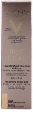 Vichy Teint Idéal rozjasňující fluidní make-up pro ideální odstín pleti 4