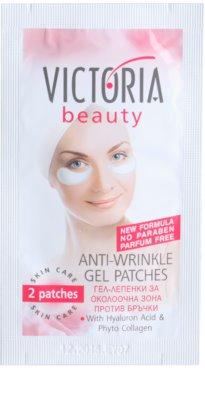Victoria Beauty Skin Care gelové náplasti na vyhlazení vrásek pod očima
