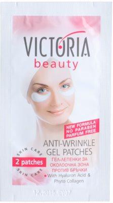 Victoria Beauty Skin Care гелевий пластир для розгладження зморшок на шкірі під очима