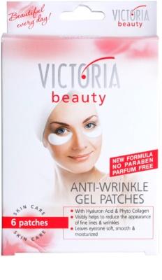 Victoria Beauty Skin Care żelowe nakładki wygładzające zmarszczki 1