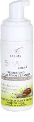 Victoria Beauty Snail Extract освежаваща почистваща пяна с екстракт от охлюв 1